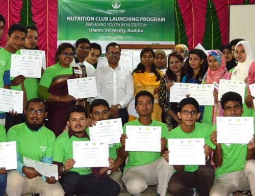 Nutrition Club Launched by BIID at Islamic University