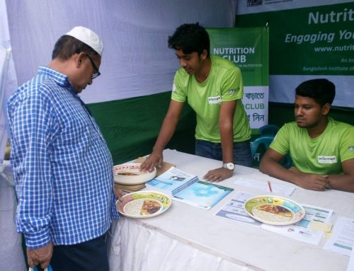 BIID Nutrition Club at Fruit Fair, 2017