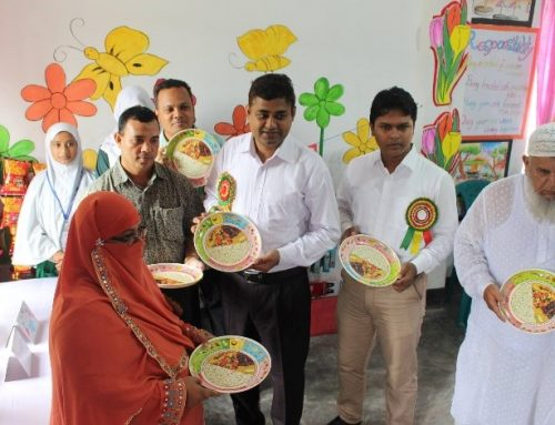 """Food Plate for all"" Campaign at Nutrition Clubs"