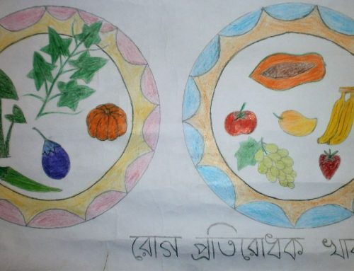 A Painting Campaign held at Nutrition Club, Baira High School, Manikgonj