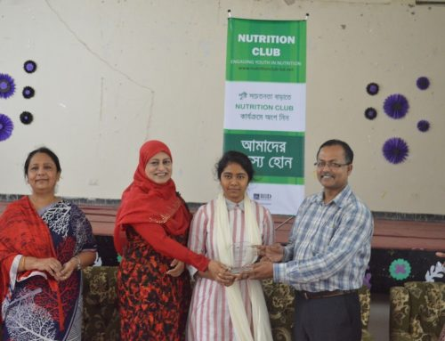 "Workshop on ""Importance of Adolescent Nutrition"" organized by BIID and College of Home Economics"