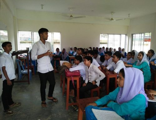 Nutrition Awareness Building Program at Joymontop High School